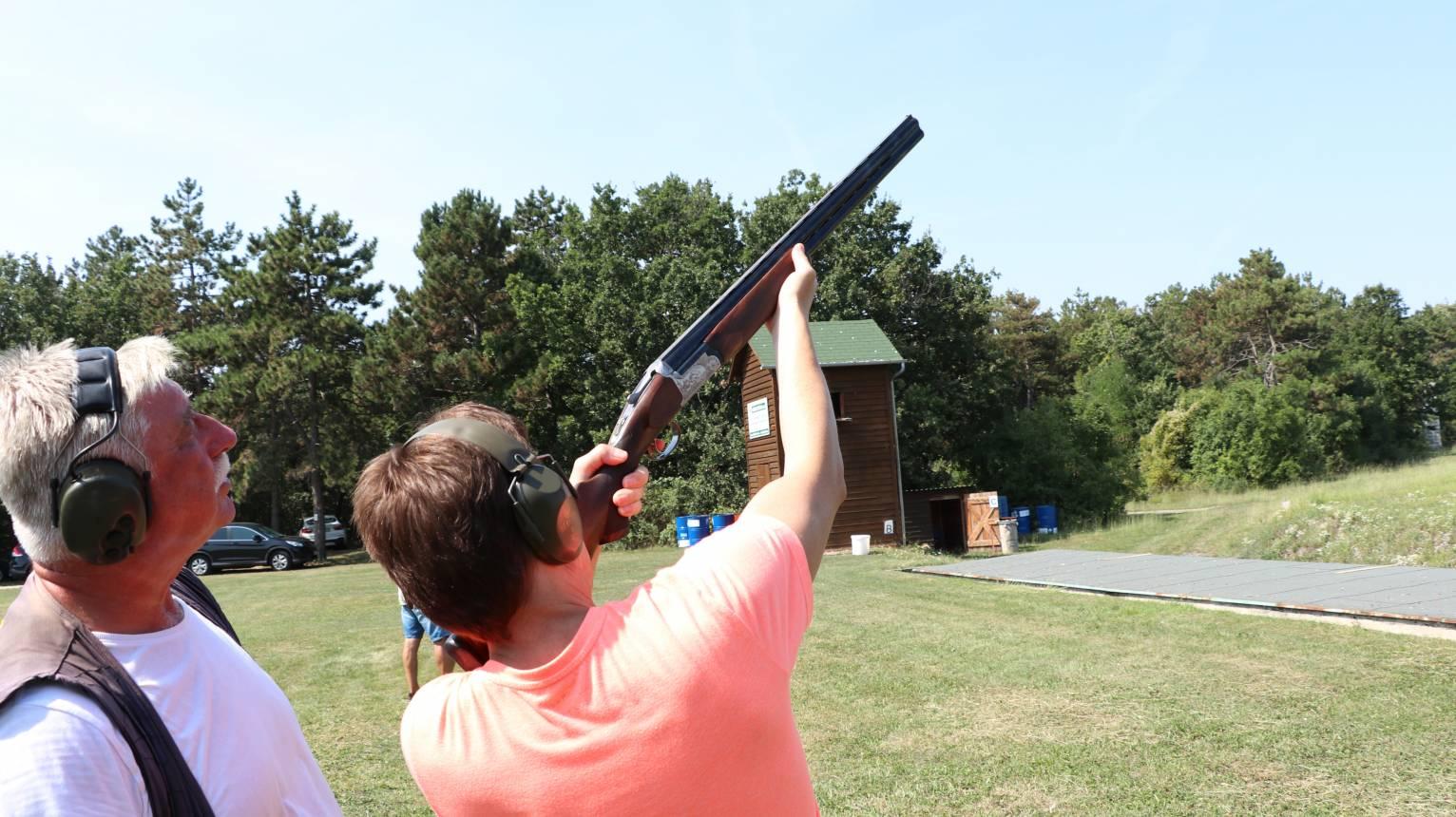 Nagyvadász élménylövészeti csomag az Esztergomi lőtéren