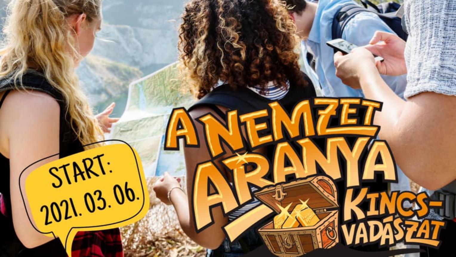 Valós Kincskereső játékban való részvétel 2 millió értékű Aranyrúdért