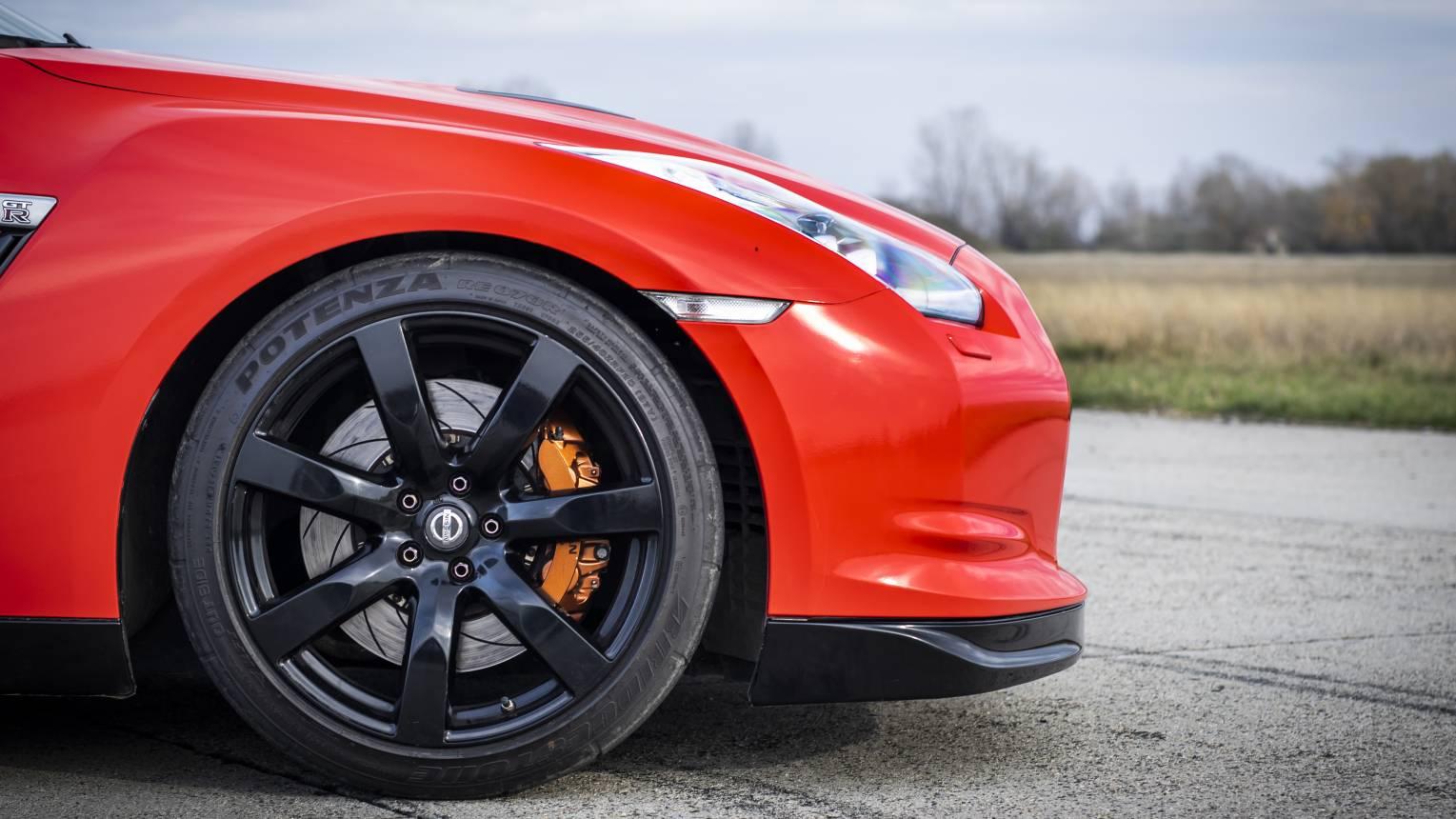 Nissan GT-R vezetés a DRX-ringen