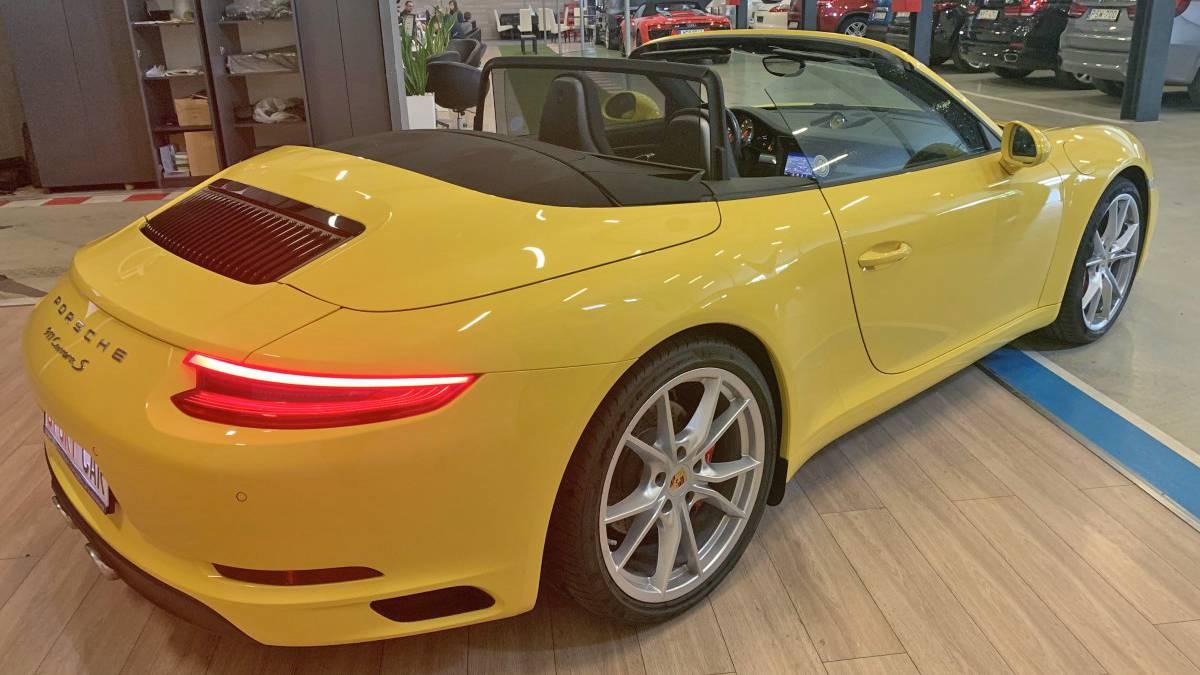 Porsche Carrera S kölcsönzés