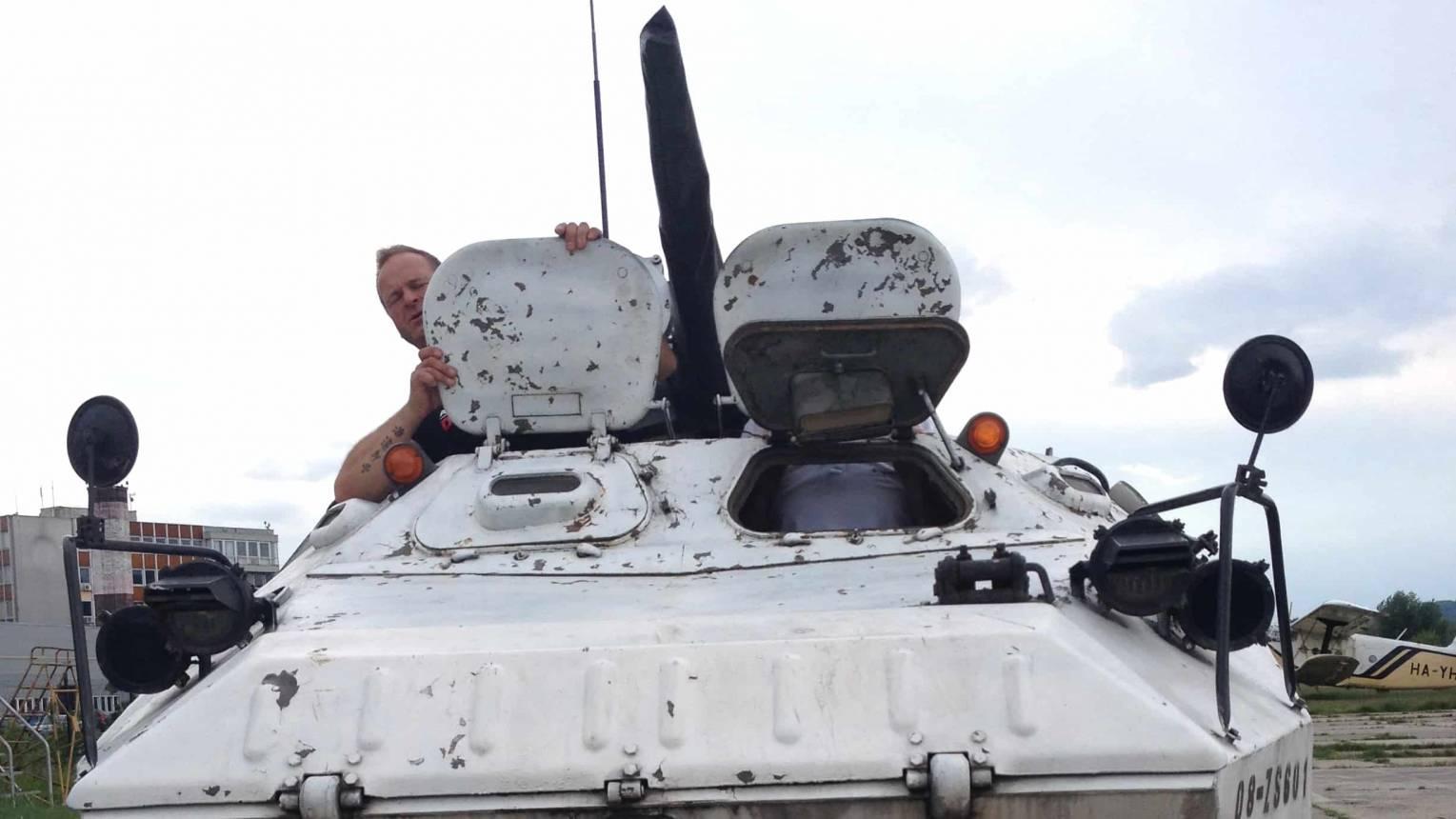 PSZH katonai jármű vezetés