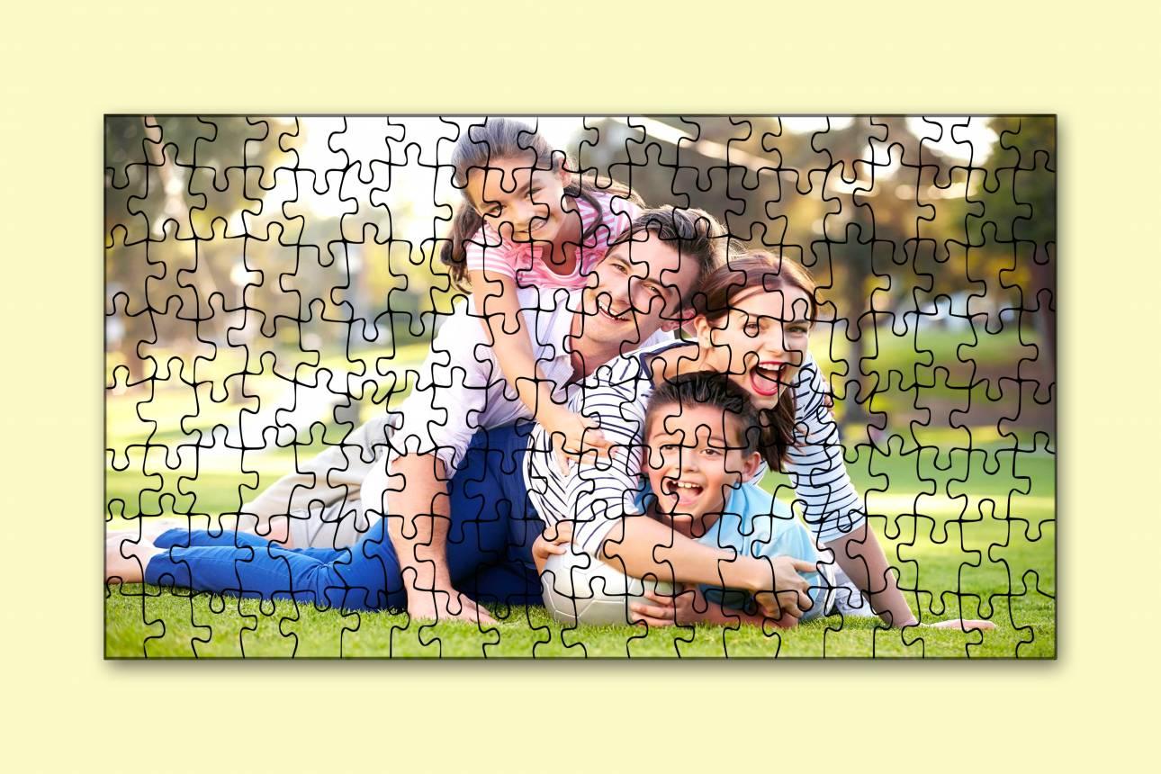 Egyedi fényképes puzzle ajándékba A4/A3-as méretben