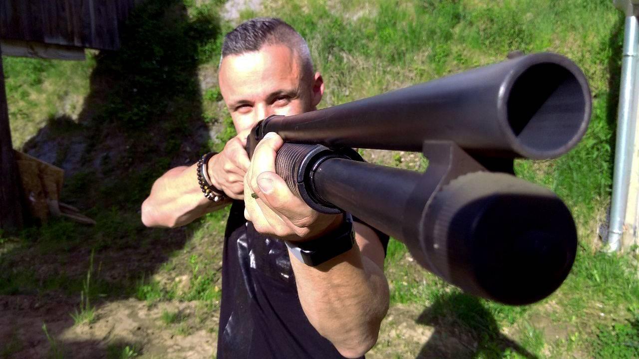 Rambo csomag a győri Ballistic lőtéren