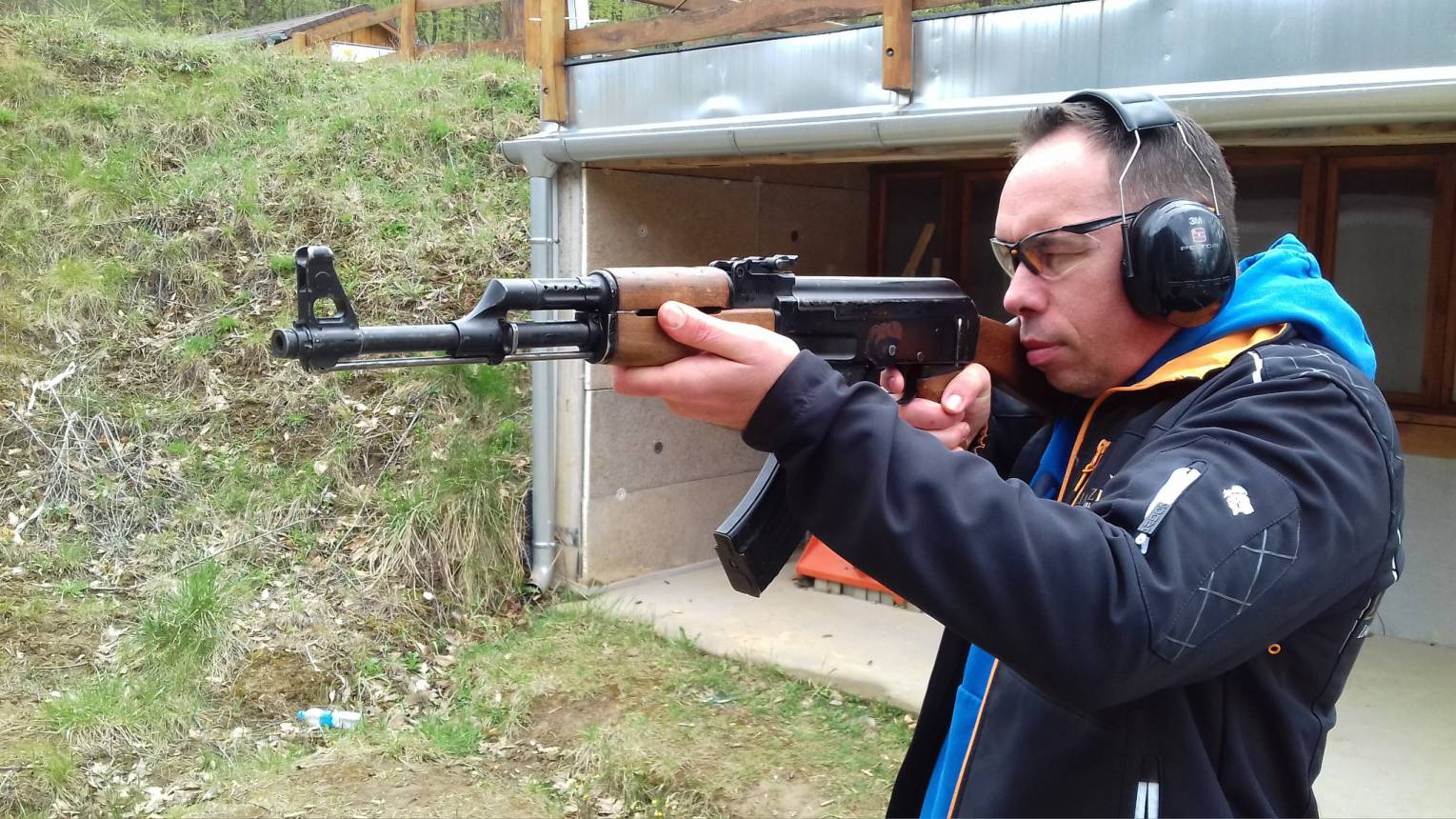 Terminátor csomag a győri Ballistic lőtéren
