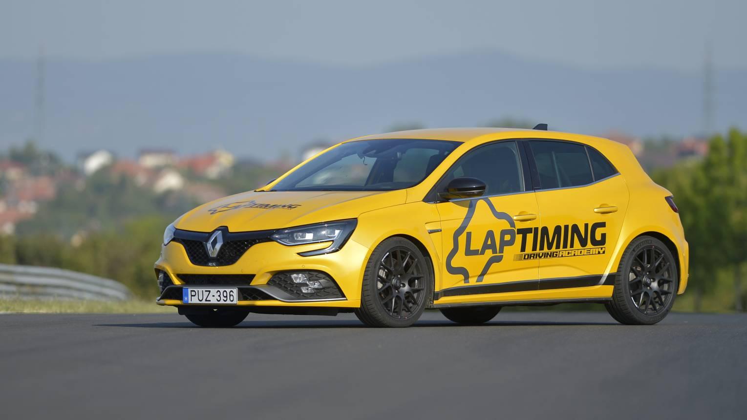 Renault Megane RS élményautózás a Hungaroringen