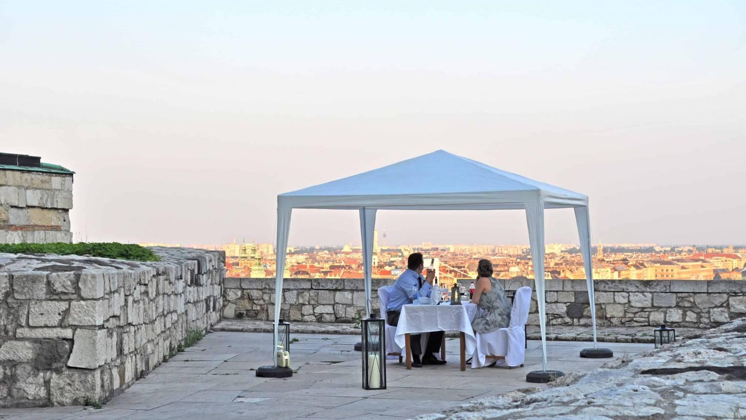 Exkluzív privát vacsora a Budai Várban