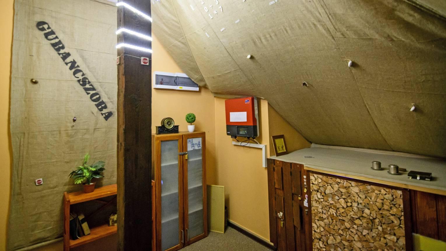 Sajtgubanc szabadulószoba Dunaharasztiban