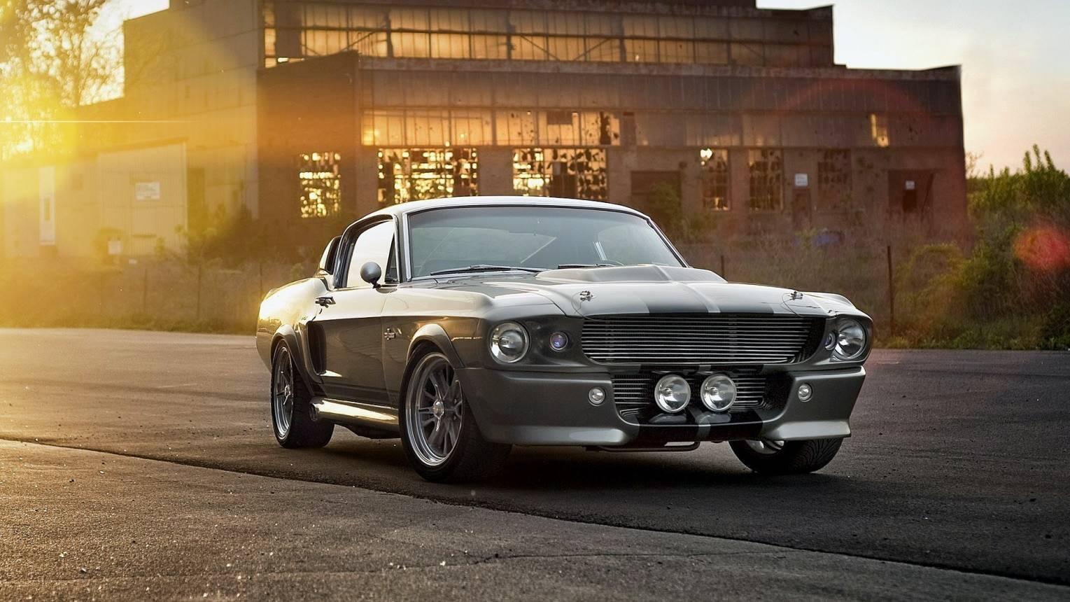 Shelby Mustang GT Eleanor vezetés a Hungaroringen