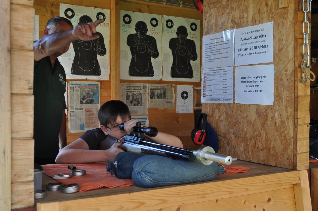 Gyermek normál lövészeti csomag