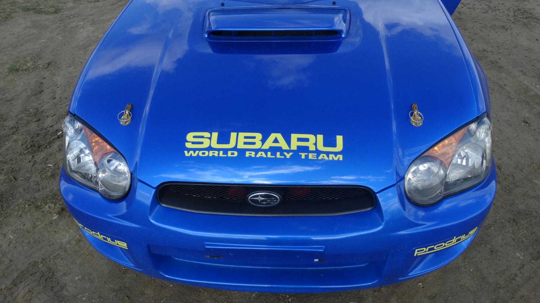 Subaru Impreza WRX csapatás a DRX Rally Arénában