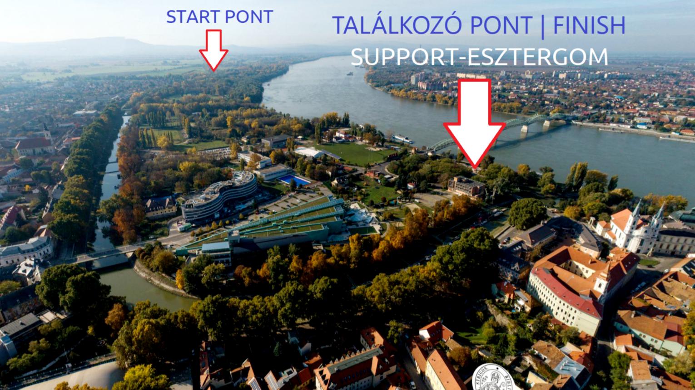 Vadregényes Kis-Duna Túra SUP deszkán Esztergomban