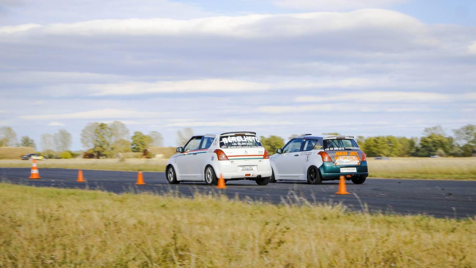 Suzuki Swift Cup vezetés a DRX-ringen
