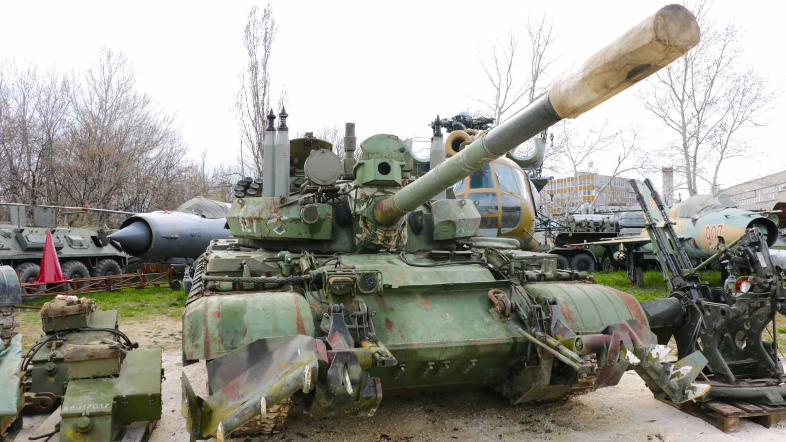 Vezess egy T55-ös tankot Budaörsön