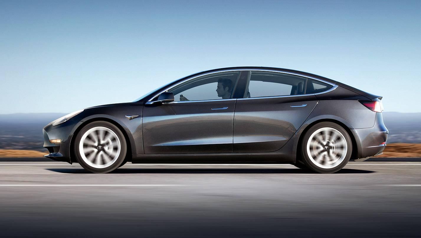 Tesla Model 3 élményvezetés