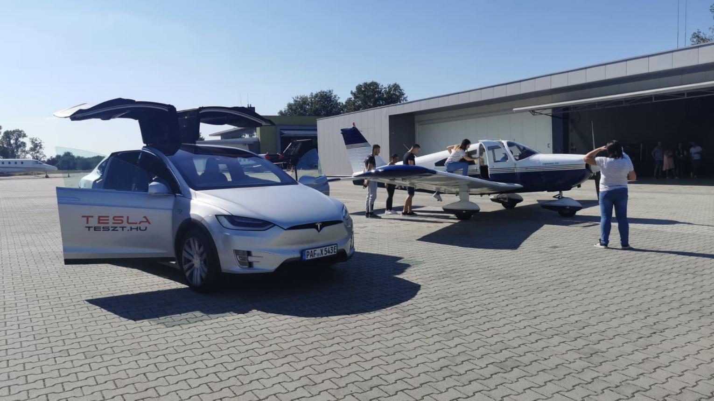795 Lóerős Tesla S P100 réven vezetése DRX ringen hétvégén
