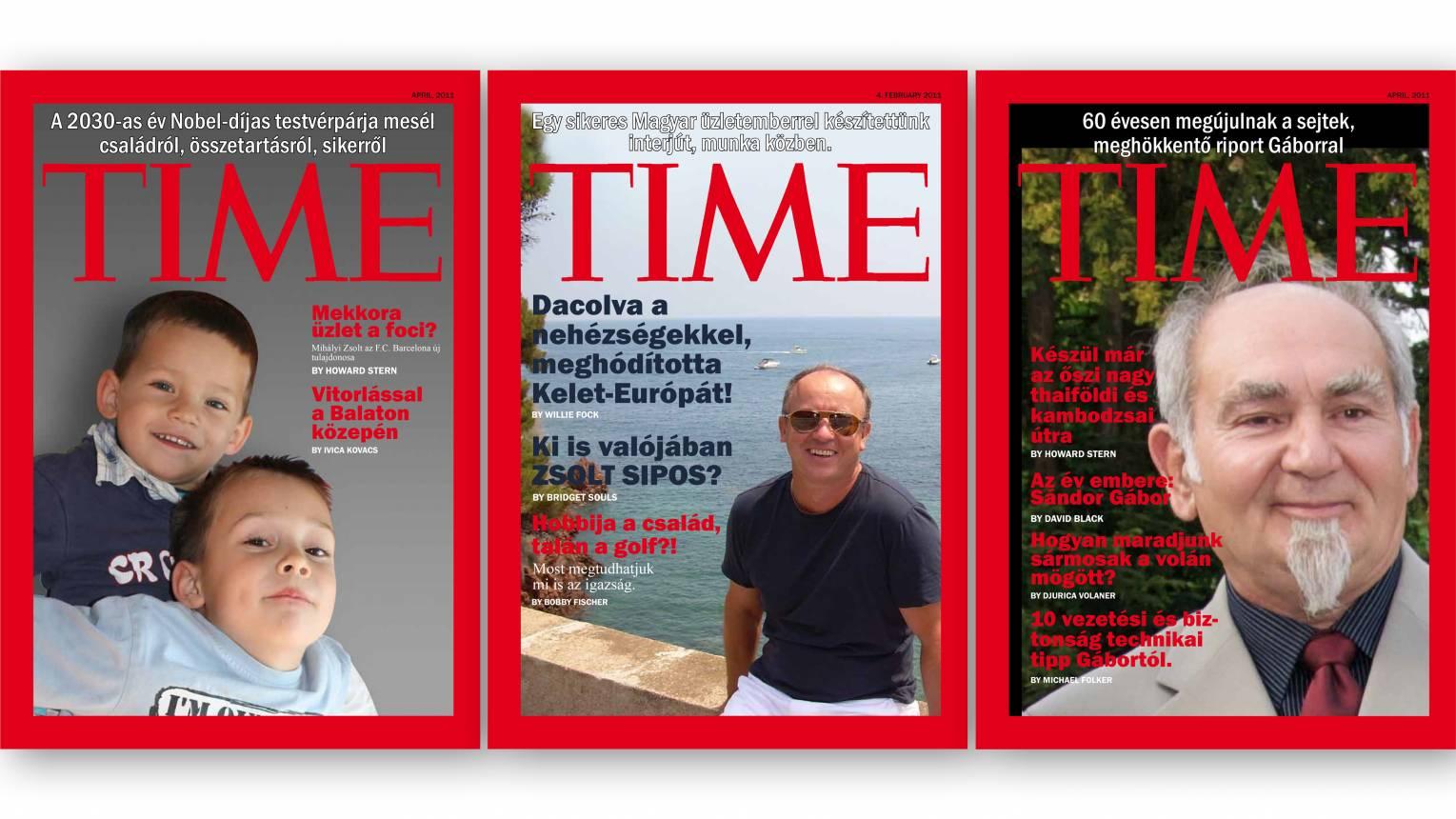 Barátod, párod a TIME címlapján