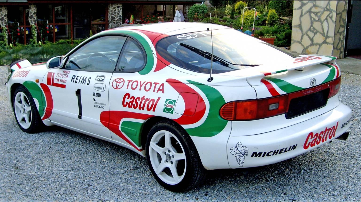 Toyota Celicával rallyzás Nyíregyháza mellett