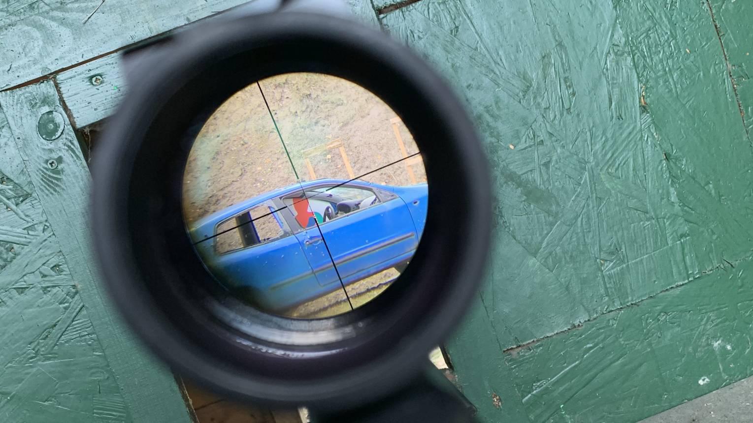 Túszmentés a Duna lövész lőtéren