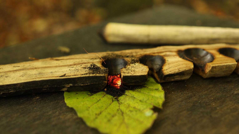 Családi erdő kaland/ Tűzgyújtás kurzus
