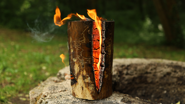 Tűzgyújtási kurzus hagyományőrző módszerekkel a Bakony erdeiben