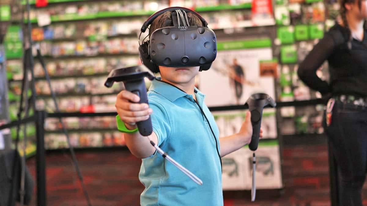 Belépő a virtuális valóságba 2 gyerkőcnek