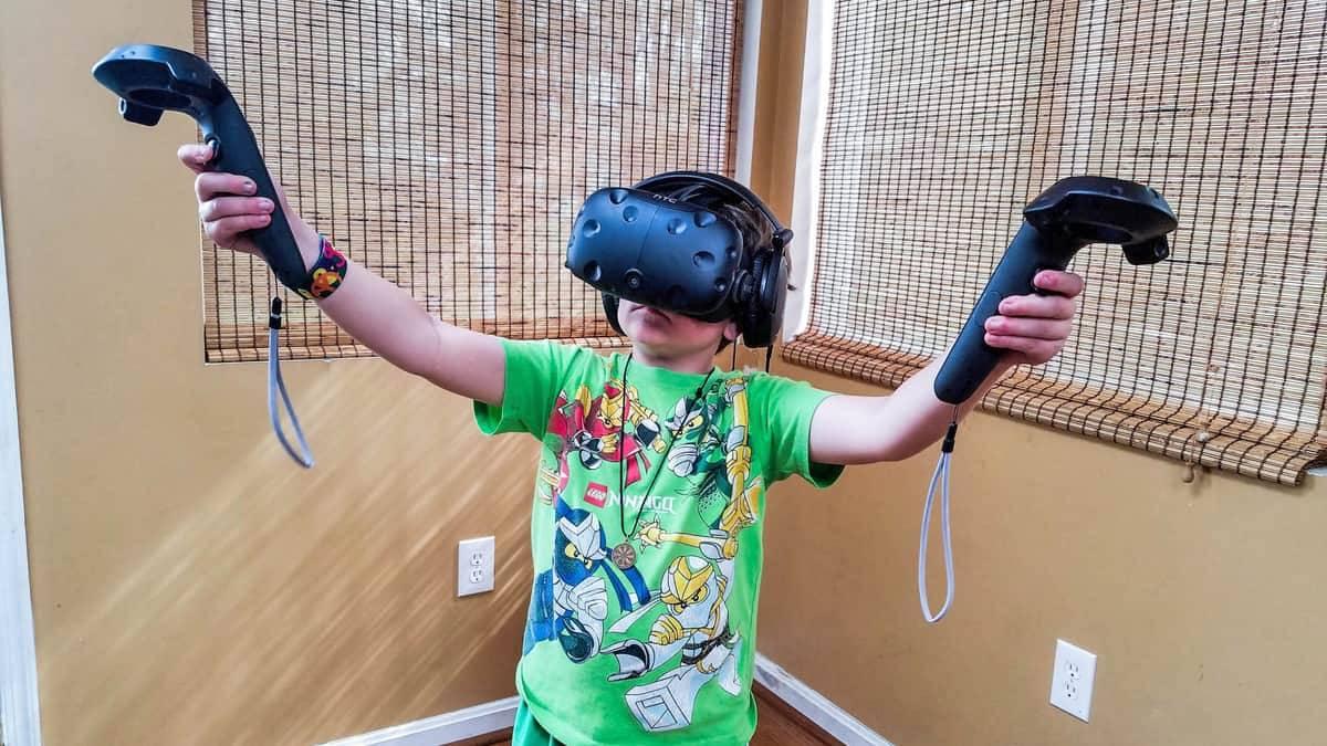 Belépő a virtuális valóságba 3 gyerkőcnek