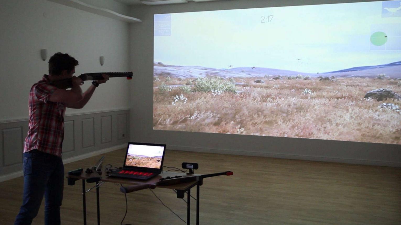Vadászoknak szuper gyakorló ajándék a Simwait lőtér szimulátor