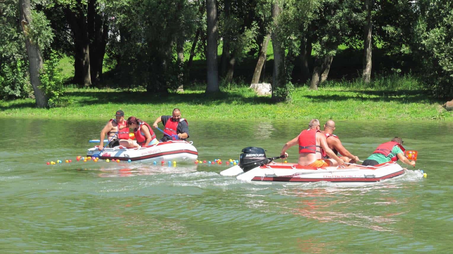 Vízi csapatépítő tréning Győrben 10-16 fő részére