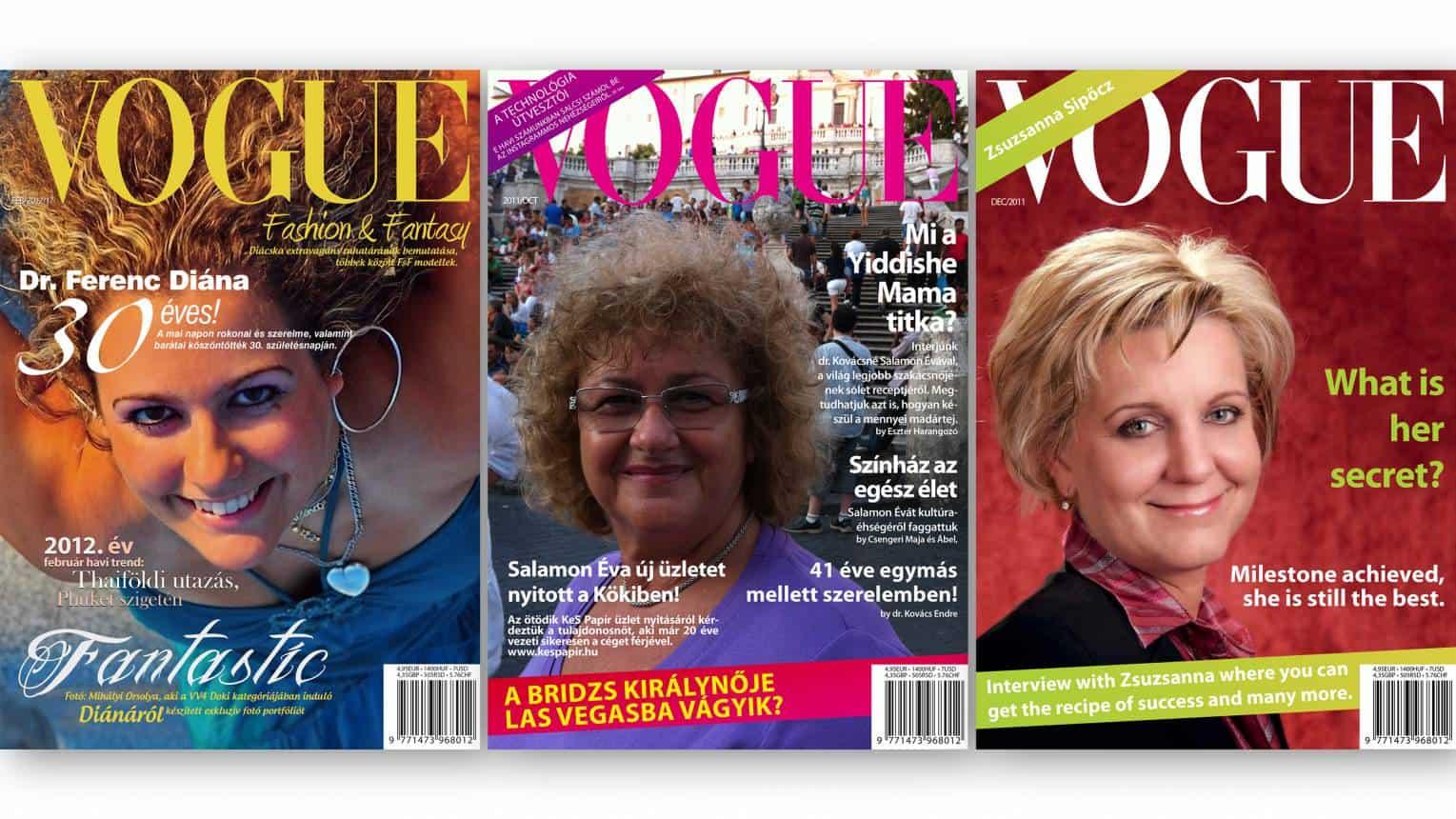 Barátnőd, kedvesed a Vogue címlapján