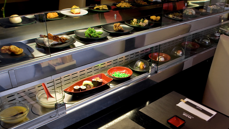 Mindent megeszek Runing Sushi élmény a Wasabi éttermeiben