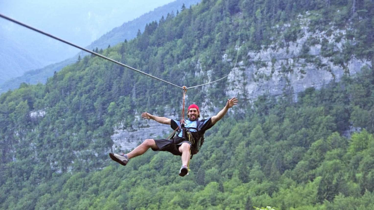 Zipline Szlovéniában